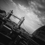 Tower Bridge black and white